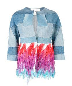 Ava Adore   Patchwork Fringe Jacket