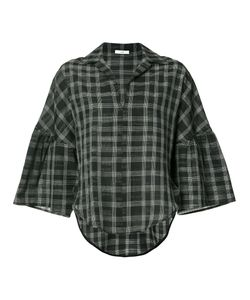 Tome | Checked Print Blouse L