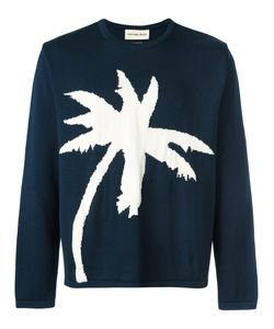 Universal Works | Palm Tree Intarsia Jumper Size Medium