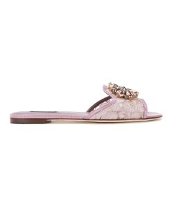 Dolce & Gabbana   Bianca Slippers