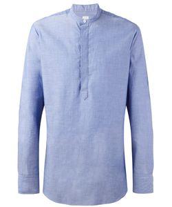 E. Tautz | Grandad Collar Shirt 15 1/2 Cotton