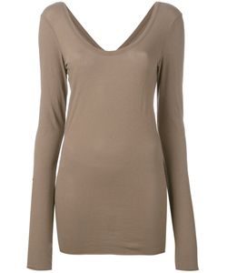 Isabel Benenato | Thumbhole Slim-Fit T-Shirt