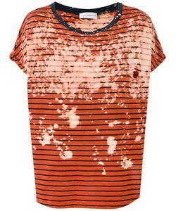 Faith Connexion   Striped T-Shirt Size Xs