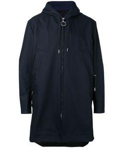 ACNE STUDIOS | Zipped Hooded Midi Coat Size 46