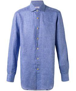 Kiton | Fine Check Shirt 44