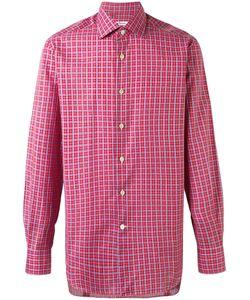 Kiton | Checked Shirt 44