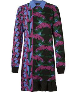 Gig | Foliage Pattern Knit Dress