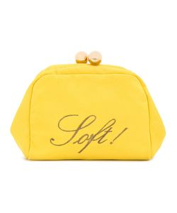Moschino Vintage | Soft Embroidered Clutch