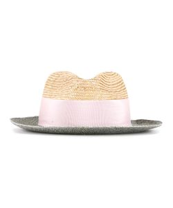 Federica Moretti | Contrast Hat Polyester/Polyimide