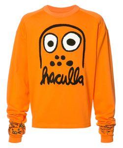 Haculla | Logo Print Sweatshirt Large Cotton
