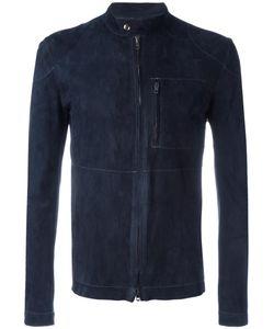 Salvatore Santoro | Zipped Leather Jacket 48