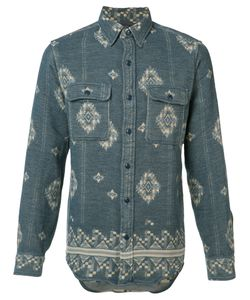 Rrl | Printed Shirt Small Cotton
