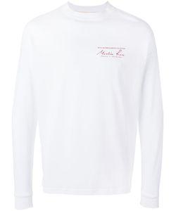 Martine Rose | Logo Print Sweatshirt Size Large
