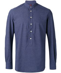 Mp Massimo Piombo   Collarless Shirt