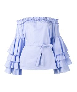 Jour/Né | Off Shoulder Ruffle Blouse Size 42