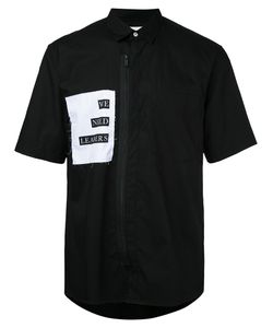 Public School | Front Zipper Shirt