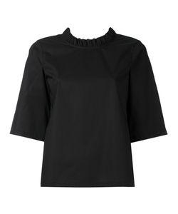 Lareida | Rocco Frilled Short Sleeve Blouse Women