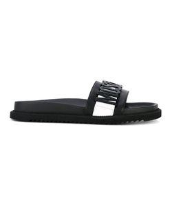 Moschino | Logo Slide Sandals 40