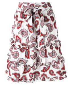 Dodo Bar Or | Paisley Print Belted Skirt Women