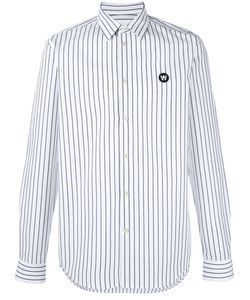Wood Wood | Striped Shirt Small Cotton