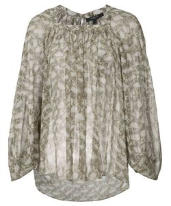 Derek Lam | Patterned Blouse Size 46