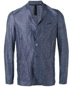 Harris Wharf London | Patch Pockets Striped Blazer