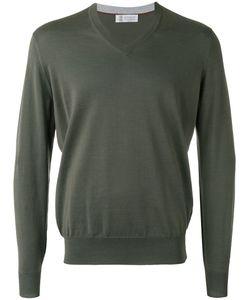 Brunello Cucinelli | V-Neck Sweater Size 56