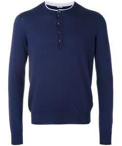 Malo   Contrast Trim Sweater 48