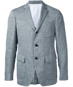 Wooster + Lardini | Textured Stripe Blazer