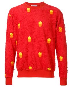 Mikio Sakabe | French Fries Sweatshirt Adult Unisex Large Cotton