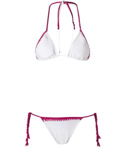 Amir Slama   Triangle Bikini Set P Elastodiene