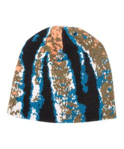 Baja East | Abstract Tiger Stripe Beanie
