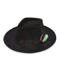 Nick Fouquet | The Heatherton Hat Silk/Leather/Beaver Fur/Wool