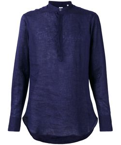 E. Tautz | Slim-Fit Grandad Collar Shirt