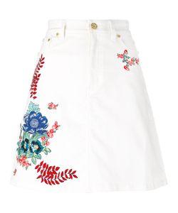 House Of Holland | Embroidered Denim Skirt