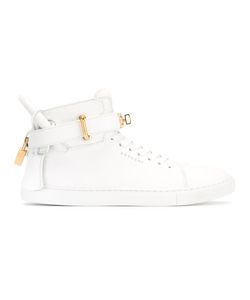 Buscemi | High-Top Trainers 38 Calf Leather/Rubber/Leather/Metal Other
