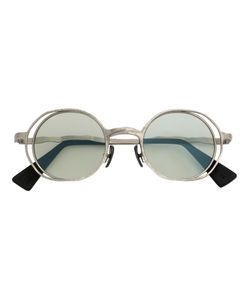 Kuboraum | Round Frame Sunglasses Adult Unisex Acetate/Metal/Glass