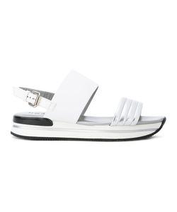 Hogan | Platform Sling-Back Sandals