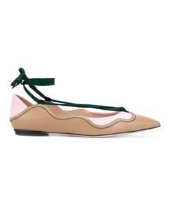 Fendi | Lace-Up Detail Ballerinas 38.5