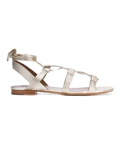 Tabitha Simmons | Lace-Up Sandals 36