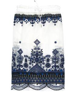 Sacai | Sheer Overlay Skirt Size 2
