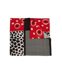 Pierre-Louis Mascia | Contrast Print Scarf Adult Unisex Silk/Cotton