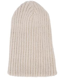 The Elder Statesman | Ribbed Beanie Adult Unisex Alpaca