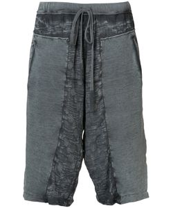 Lost And Found Rooms | Lost Found Rooms Distressed Track Shorts Size Medium