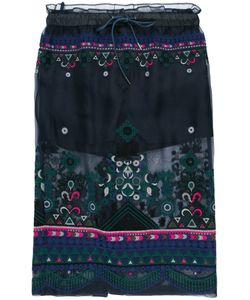 Sacai | Sheer Overlay Skirt Size