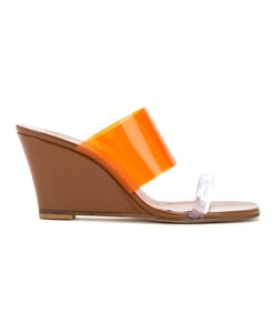 Maryam Nassir Zadeh | Panel Wedge Andals