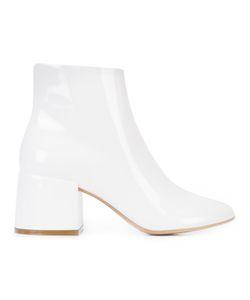Mm6 Maison Margiela   Side Zip Ankle Boots