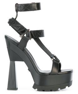 Versace | T-Bar Platform Sandals Size 39