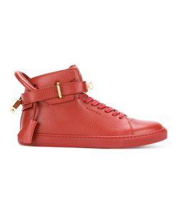 Buscemi   Buckled Hi-Top Sneakers Men 43