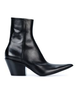 Haider Ackermann | Taurus Point Toe Mid Heel Ankle Boots